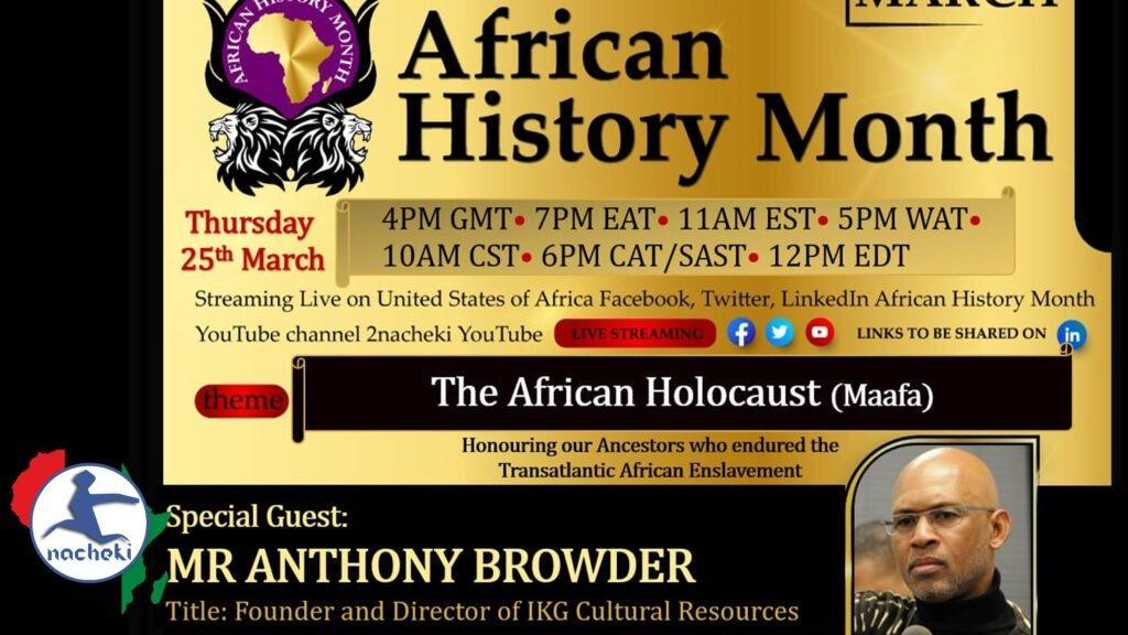 7th African History Month Conference: Impacts of Slavery, Colonialism on African Mental Health
