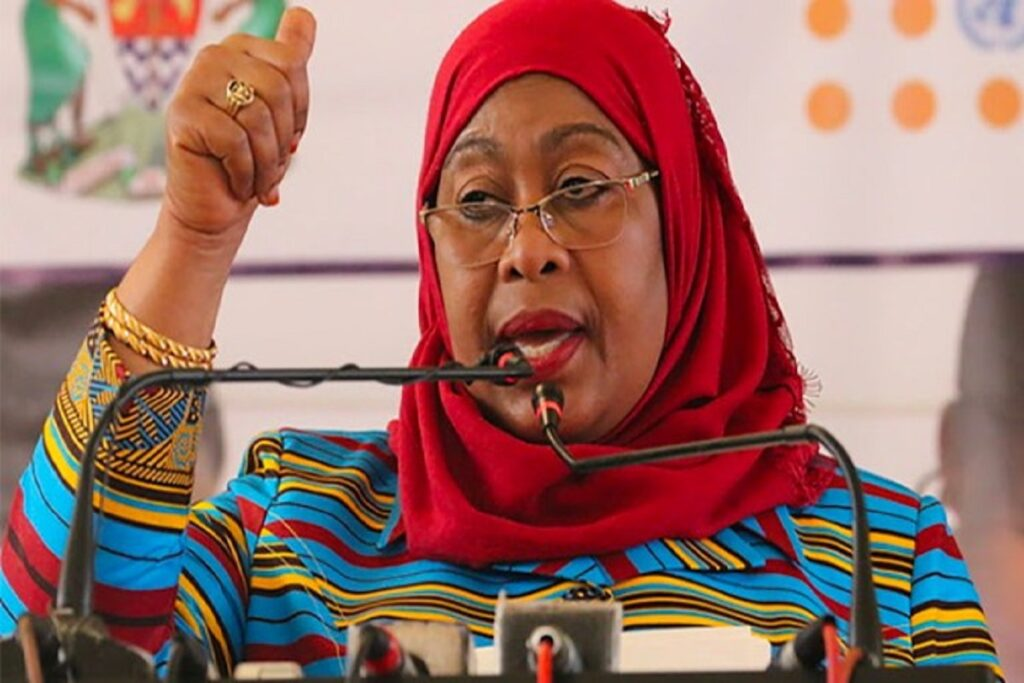 I Am a Woman, and I Am the President' – Tanzania Leader Suluhu