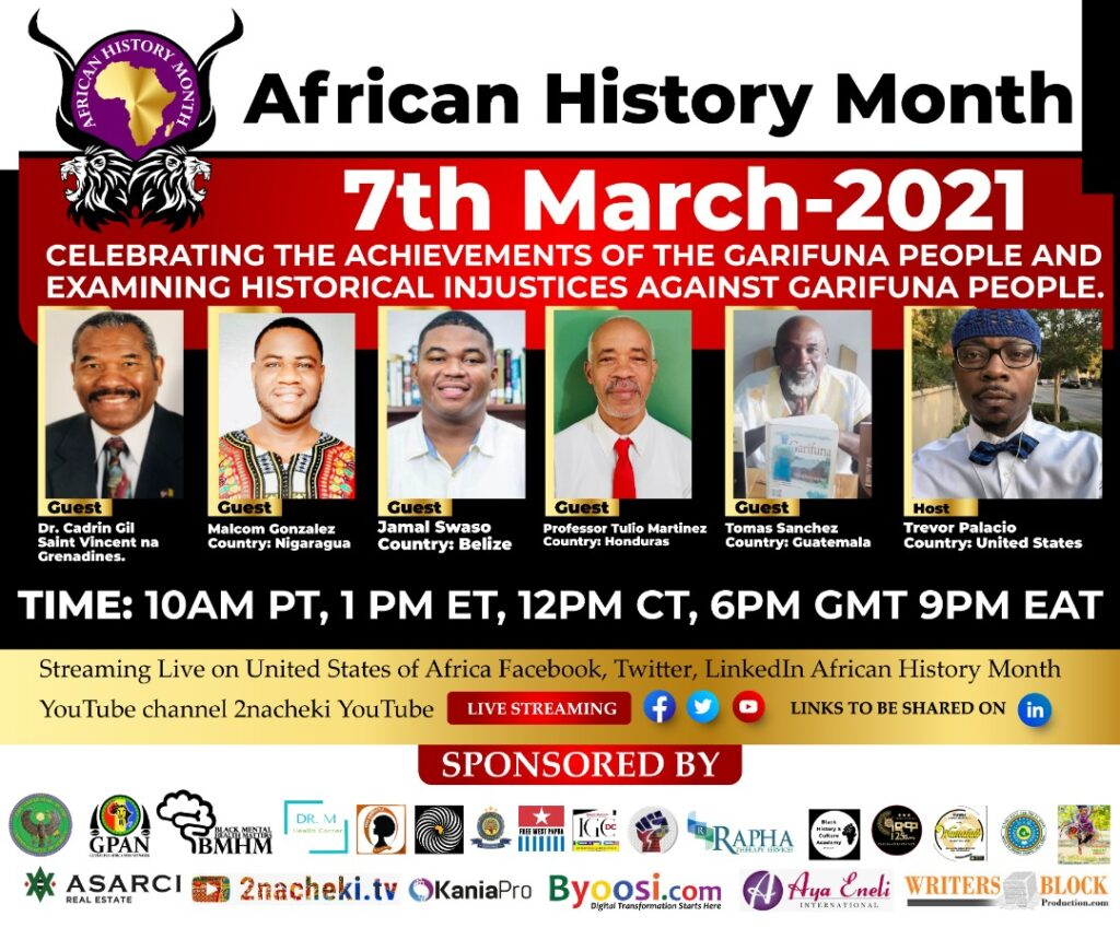 African History Month Celebrating the Garifuna people