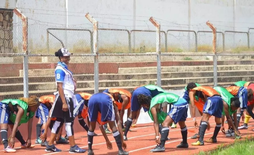 DRCongo Cheers On First Female Coach of TP Mazembe Women's Football Team