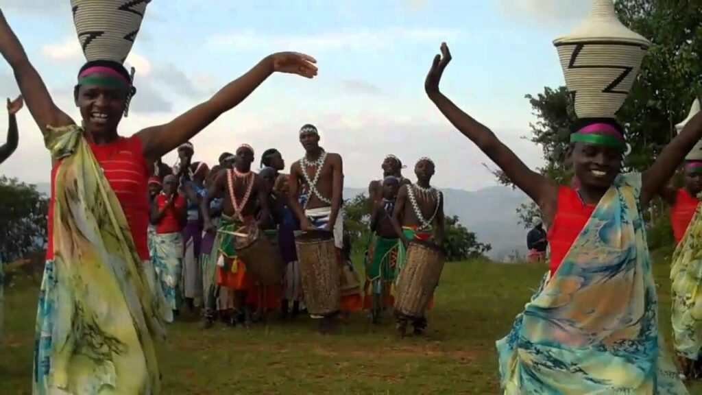 Watch this Unique African Female Basket Dance From Burundi #shorts