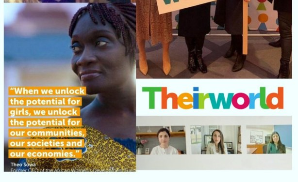 Transforming Girls & Women's Lives – Theirworld Honours Theo Sowa