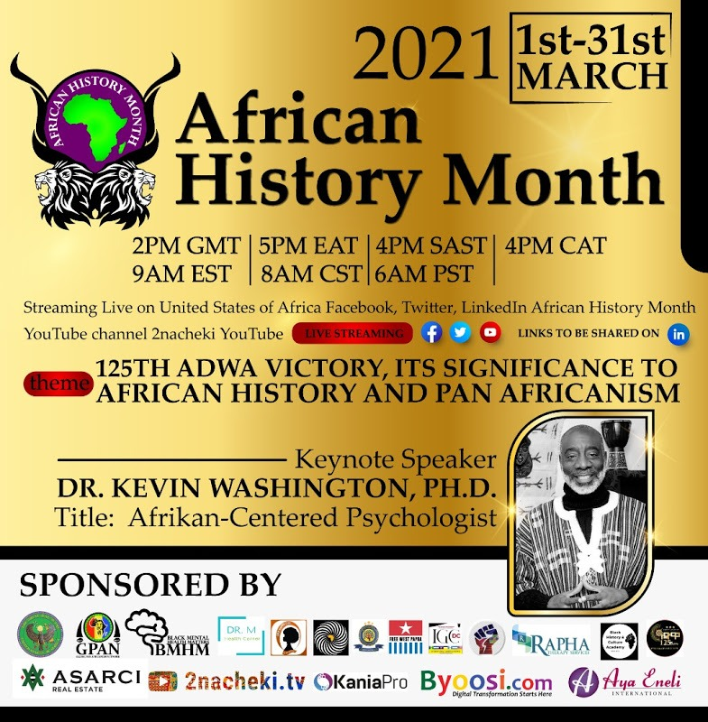 🔴Inaugural African History Month Conference 2021