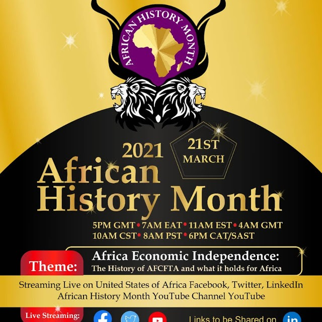 5th African History Month Conference: Africa Free Trade Impact on Africa's Economic Independence