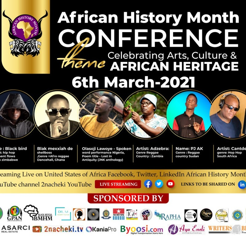 African History Month Celebrating Arts, Culture & African Heritage