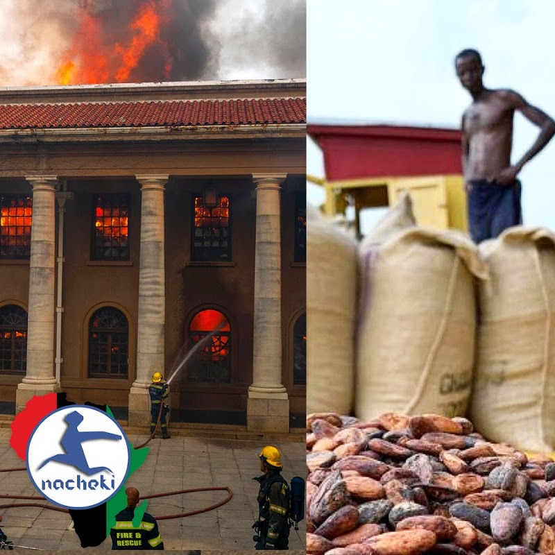 Africa to Control Chocolate, 8 Month Pregnant Gold Medalist, Chad President, South Africa Fire
