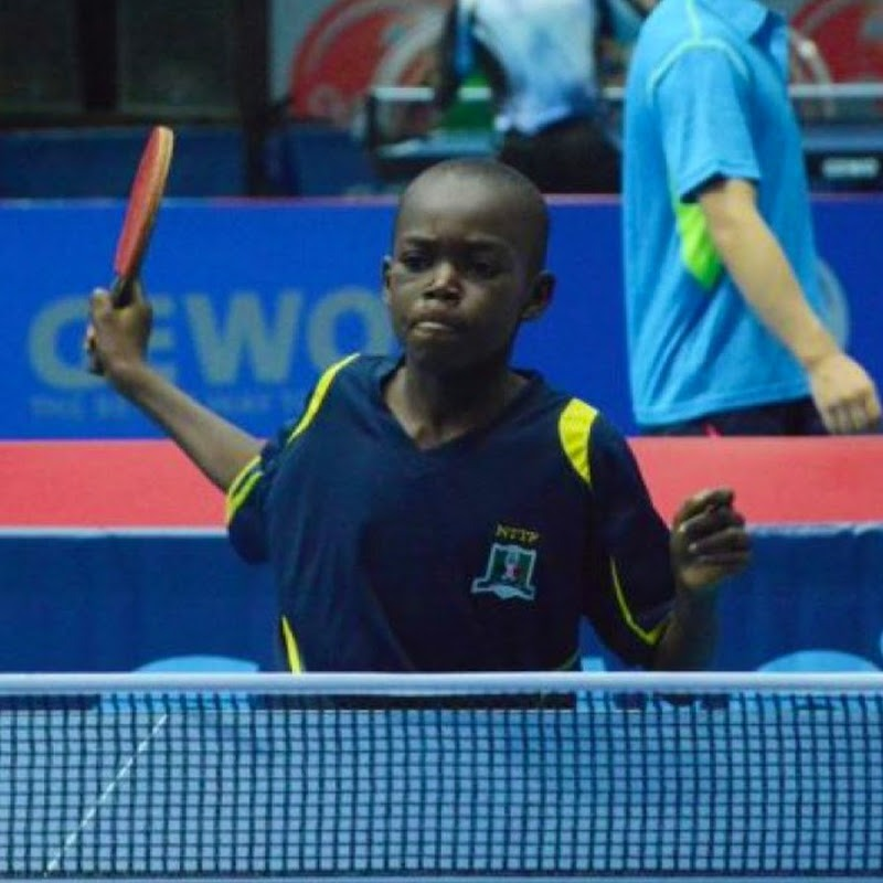African Table Tennis Prodigy from Nigeria Ranked World's Best Cadet Player