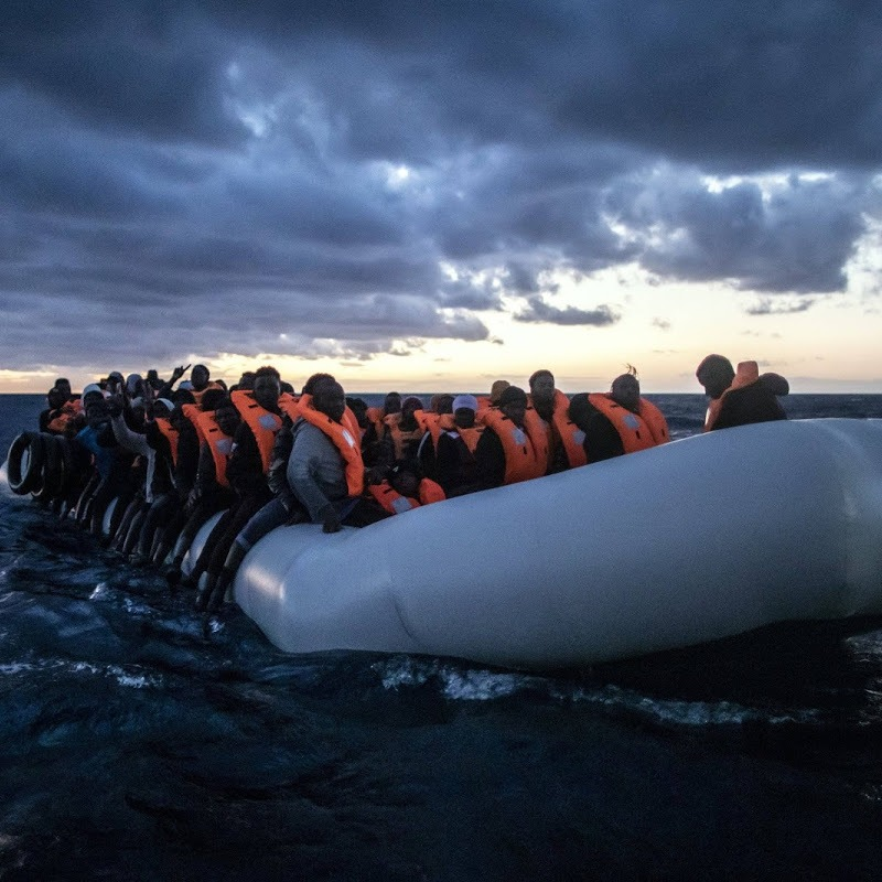 More than 100 Young Africans Risk Lives Trying to Reach Europe Rescued at Sea