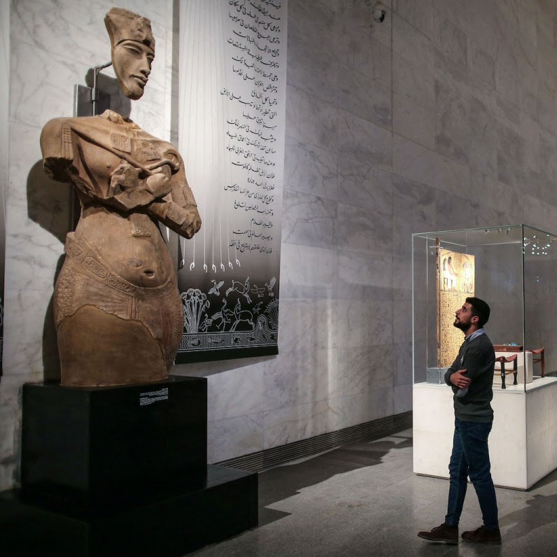 Thousands of Ancient African Art & Artefacts on Display in New Egyptian Museum