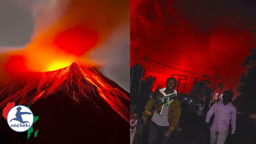 Residents from Congo give Harrowing Interview of Mount Nyiragongo Eruption