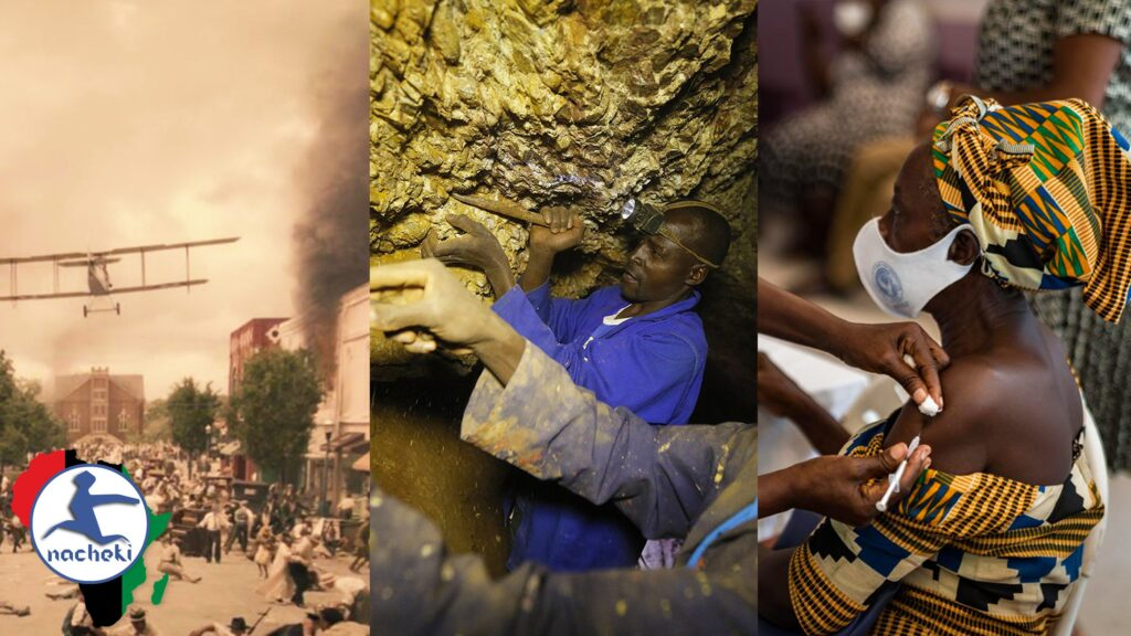 Remembering the Tulsa Massacre, 70% of Zimbabwe Gold Stolen Yearly, 23.1 Million Africans Vaccinated