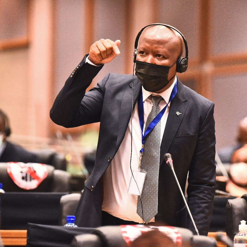 Julius Malema Solemn Call for Unity at the Pan African Parliament to Fight Imperialism