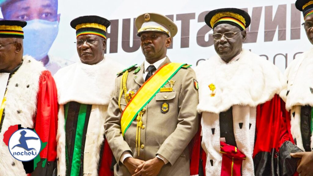 Mali Coup Leader Sworn in as Interim President Making him Youngest President in Africa