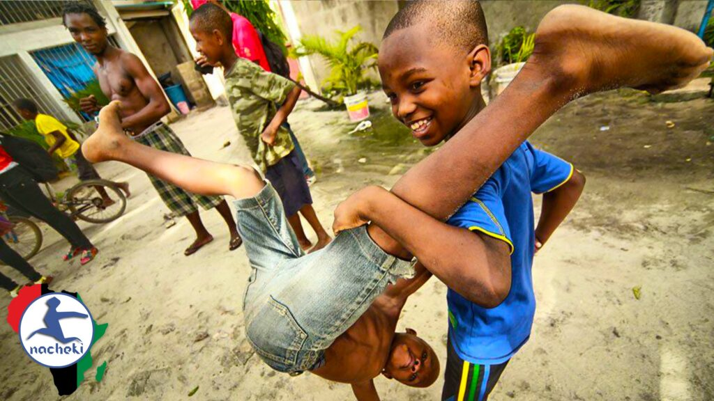 Watch this Impossible African Children's Dancing Game We Bet no Adult can Do