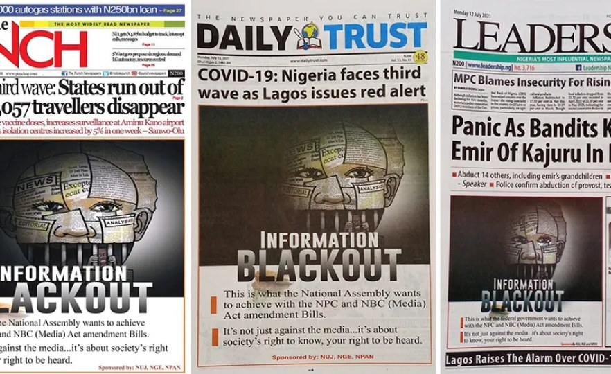 Nigerian Journalists Slam Govt Over Proposed 'Anti-Media' Laws