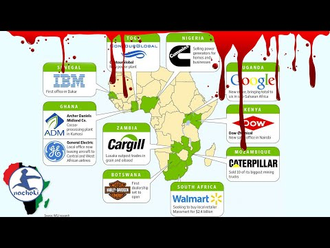 Top 10 African Countries with Foreign Companies Practicing Human Right Abuses