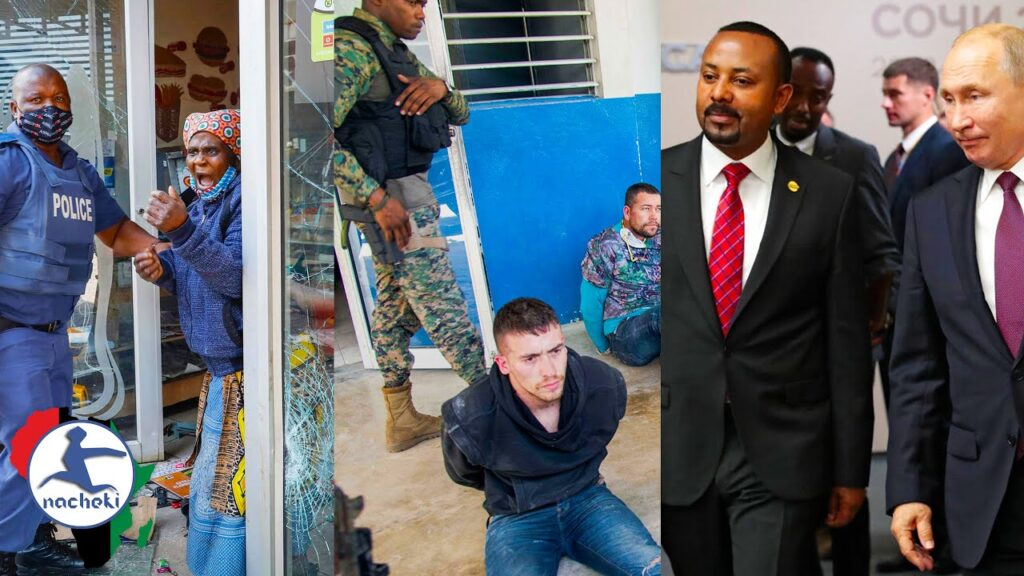 South Africa Sets Army on Protesters, Haiti Arrest Foreign Assassins, Ethiopia-Russia Military Deal