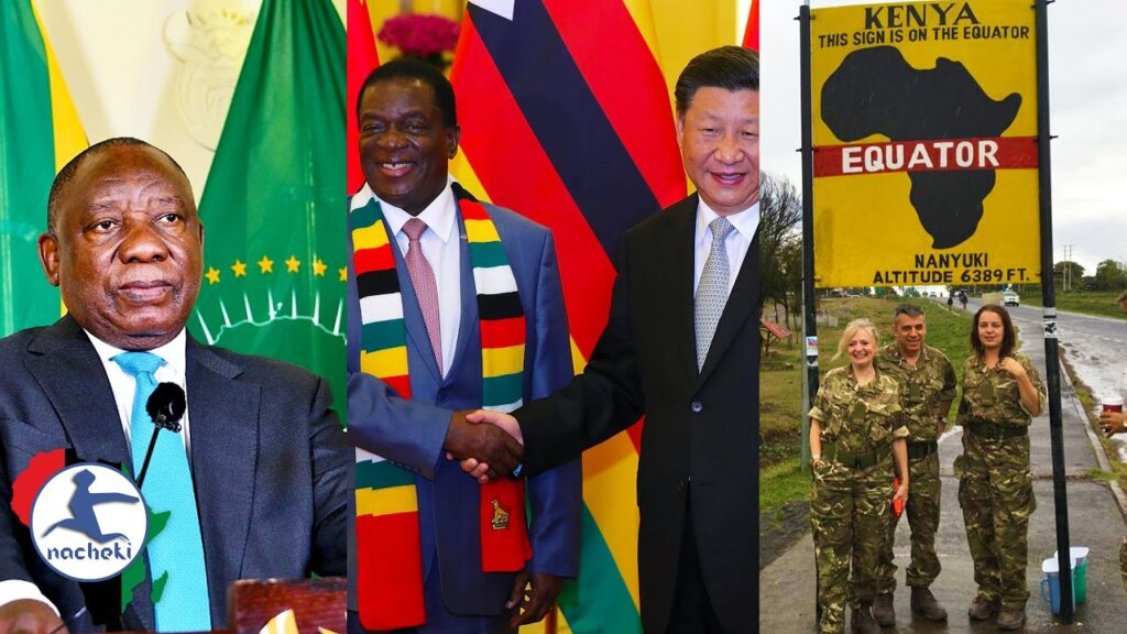 S.Africa Shocked by Israel AU Entry, Zimbabwe Halts Chinese Mining, Locals Want British Army Out