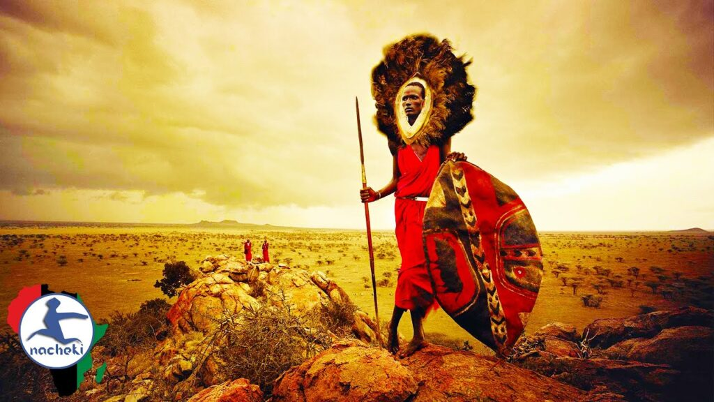 King Lion vs the Fearless Maasai Warrior Kings of Africa who Laugh at Death