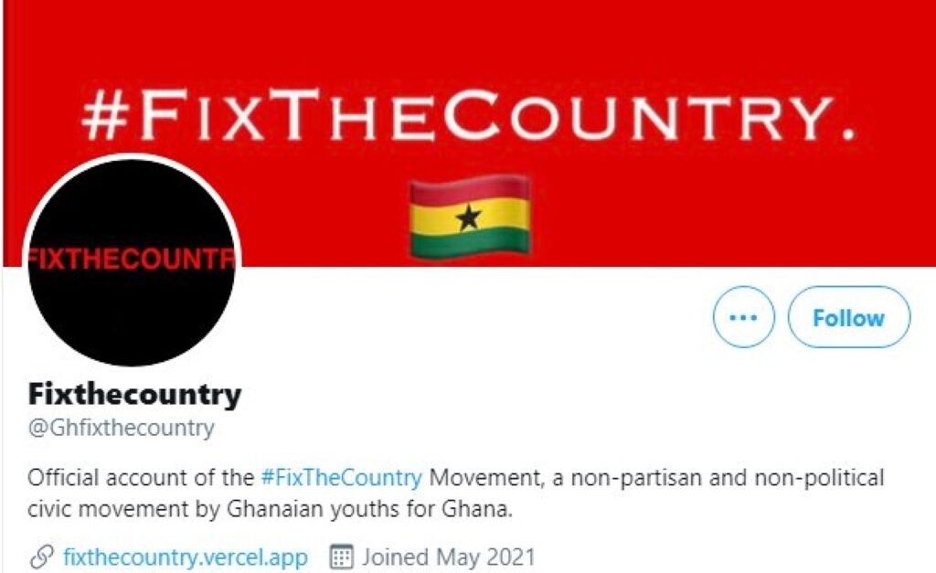 Ghana: Young People in Ghana Want to #FixTheCountry
