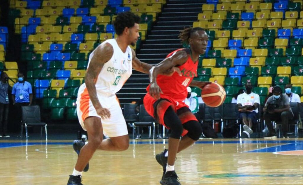 African Giants Battle it Out at the 2021 AfroBasket Tournament