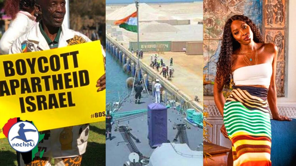 Calls for No AU Status for Israel, Secret Indian Navy Base Found in Mauritius, Naomi Campbell on SA