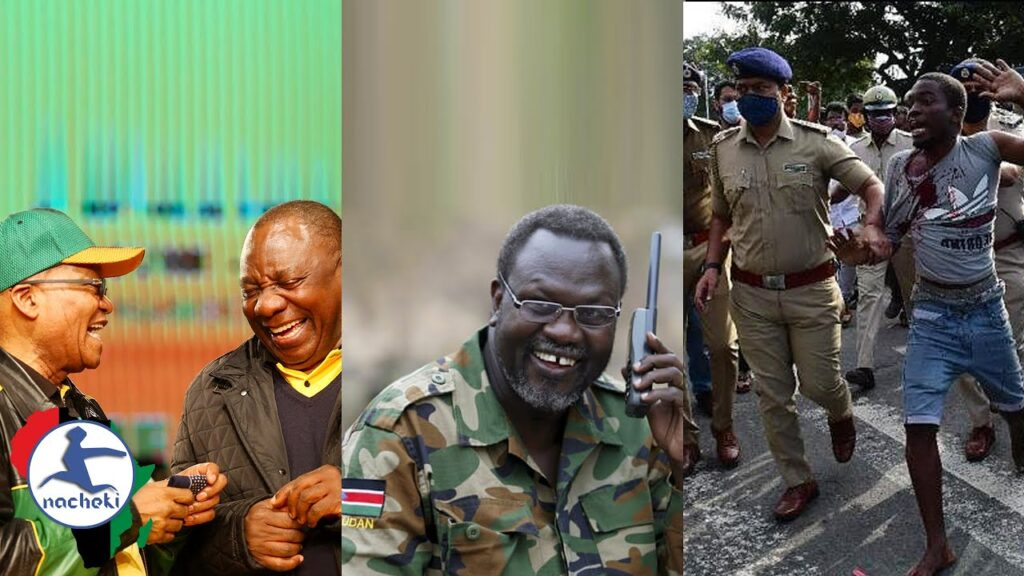 Ramaphosa to Testify Against Zuma, S.Sudan Vice Booted, Riots as Congolese Killed by Indian Police