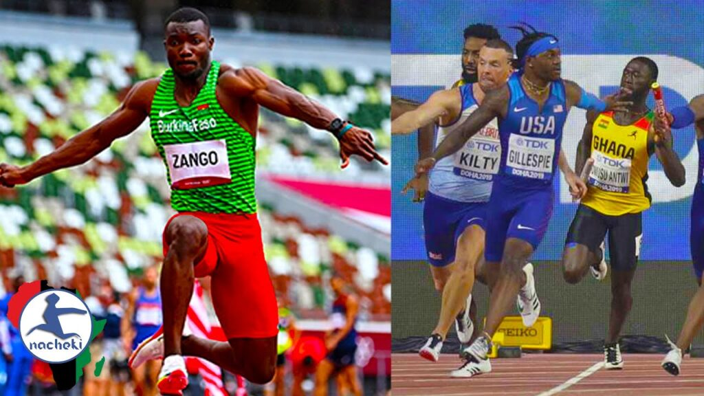 Burkina Faso Gets 1st Medal in Olympic History, Ghana Beats USA Relay Team to Reach Finals