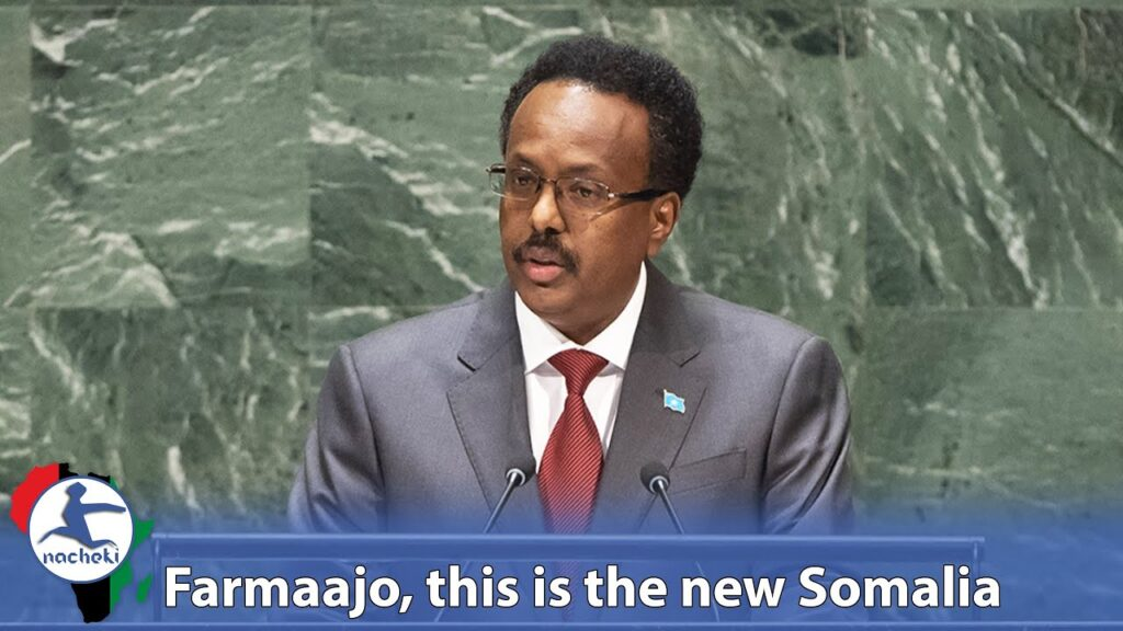 Somalia's President Proudly Shows the World How Far his Country has Come Since its Civil War