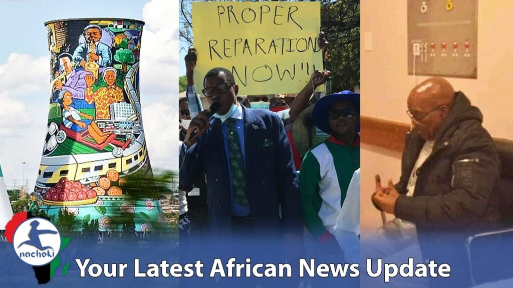 South Africa's Nuclear Plant Begins Project, Namibia Protest Germany Genocide Deal, Zuma is Too Sick