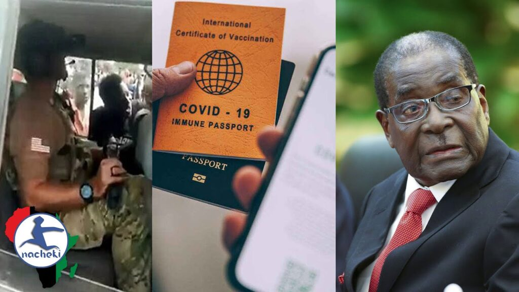US Soldiers Accused of Aiding Guinea Coup, SA Announce Covid Passports, Mugabe Remains to be Exhumed