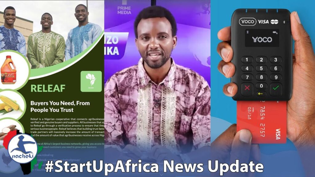 Swahili for Africa Initiative, Releaf from Nigeria Changing the Food Game, SA Fintech Startup