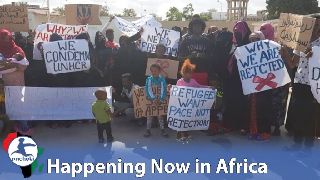African Migrant Refugees Request Humanitarian Evacuation Flights due to Dangers in Libya