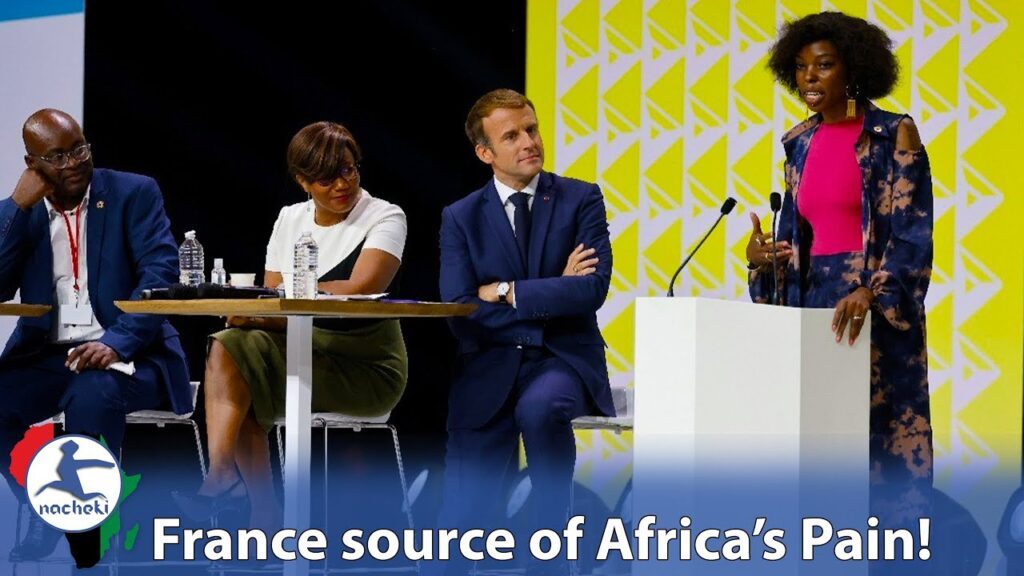 African Media Personality Lectures Macron on France Africa Exploitation During Pointless Summit